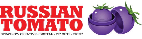 RUSSIAN TOMATO Logo